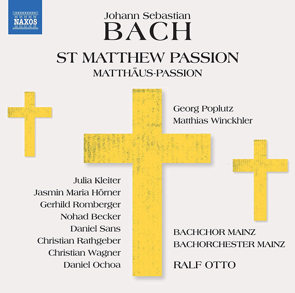 Matthäus-Passion, Bachchor Mainz, Bachorchester Mainz, Leitung: Ralf Otto